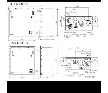 Ensy AHU 300 BH/BV (до 120м2)