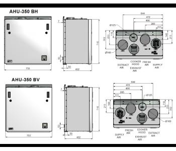 Ensy AHU 350 BH/BV (до 150м2)